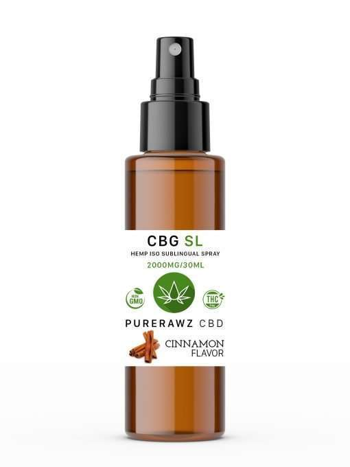 CBG Sublingual Spray