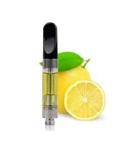 CBG Hemp Isolate Lemon Flavor Vape Cartridge