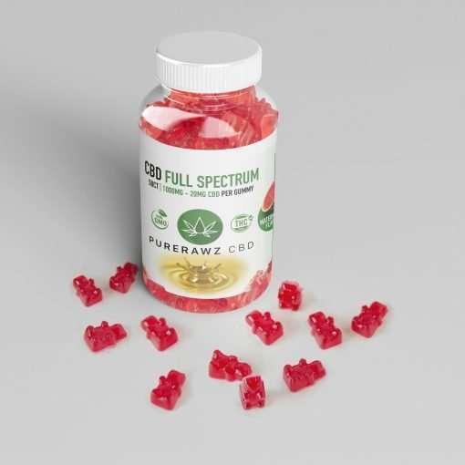 CBD Gummies Full Spectrum Watermelon